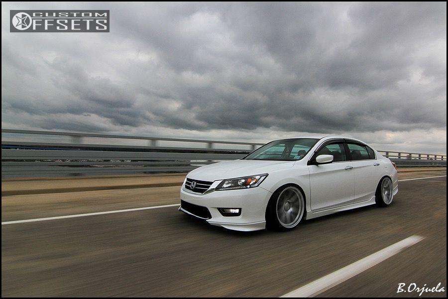 Wheel Offset 2014 Honda Accord Slightly Aggressive Lowered Adj Coil