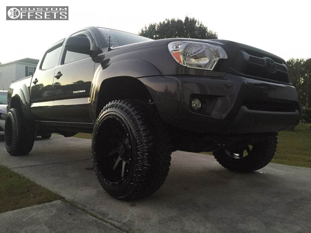 wheel offset 2012 toyota tacoma super aggressive 3 5. Black Bedroom Furniture Sets. Home Design Ideas