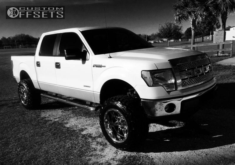 1 2012 F 150 Ford Suspension Lift 6 Fuel Hostage Chrome Super Aggressive 3 5