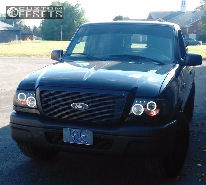 Ranger Ford Stock Tuff T Black Red