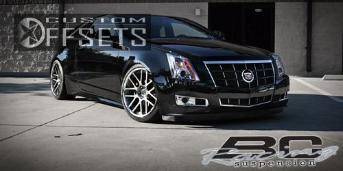 Cts Coupe Cadillac Performance Dr Coupe L Cyl A Dropped Bc Racing Ta Machined Accents Nearly Flush