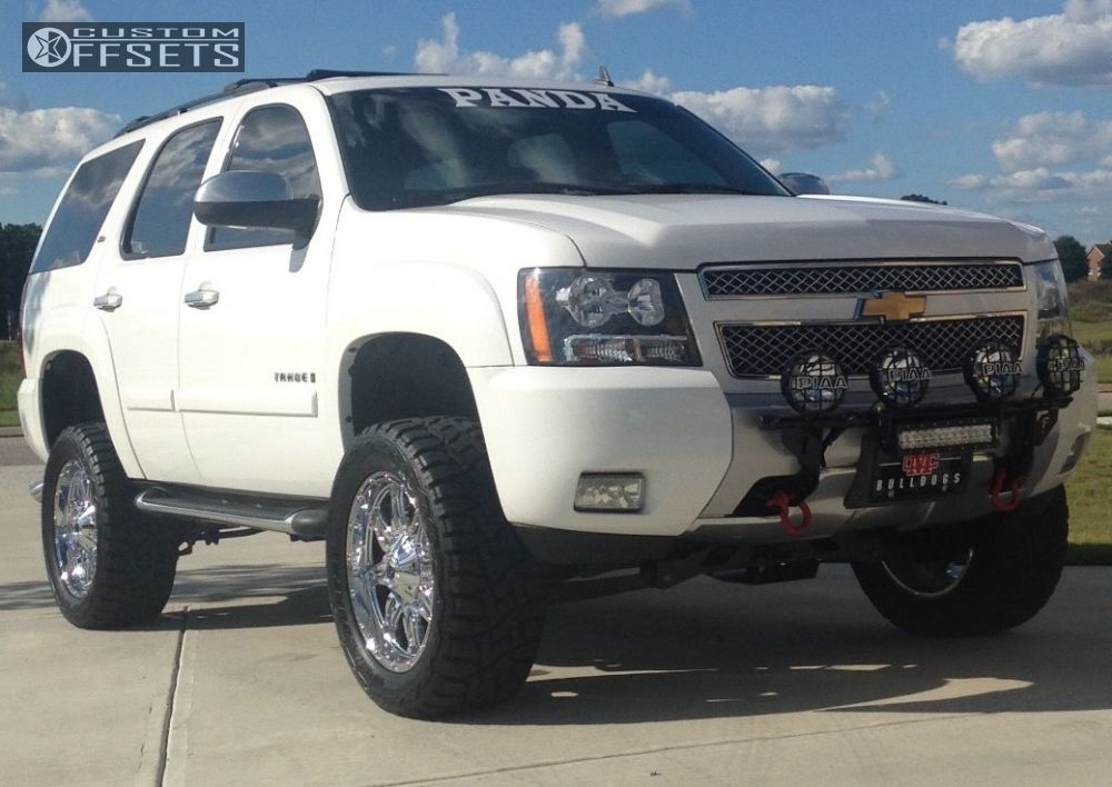 2008 Chevrolet Tahoe Fuel 530 Rough Country Suspension