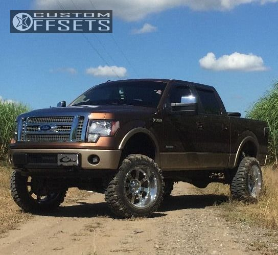 Custom F 150 >> 2012 Ford F 150 Gear Alloy Big Block Rough Country Suspension Lift 6in
