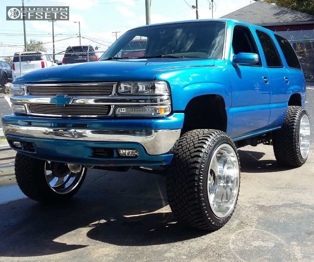 Oem Factory Wheels Style Silver Machine Rims Audiocity together with Tahoe Chevrolet Suspension Lift Body Fuel F Polished Hella Stance further Lift Kit Chevy Gmc Suburban Suv further T in addition . on 2001 chevy suburban lift kit