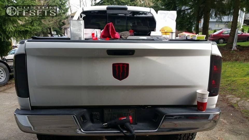 2004 Dodge Ram 2500 Fuel Lethal Pro Comp Suspension Lift 4in