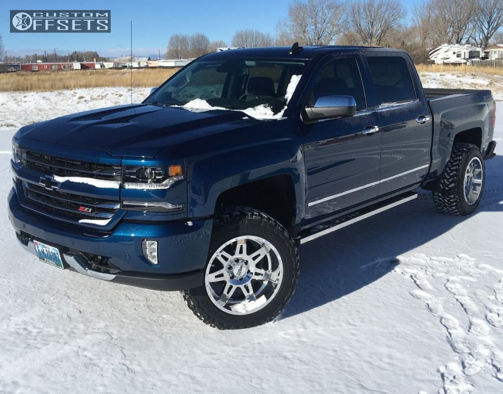 wheel offset 2017 chevrolet silverado 1500 leveling kit. Black Bedroom Furniture Sets. Home Design Ideas