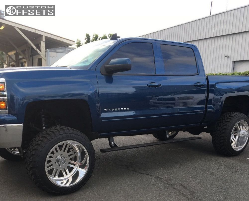 2015 chevrolet silverado 1500 american force rebel ss mcgaughys lifted 9in. Black Bedroom Furniture Sets. Home Design Ideas