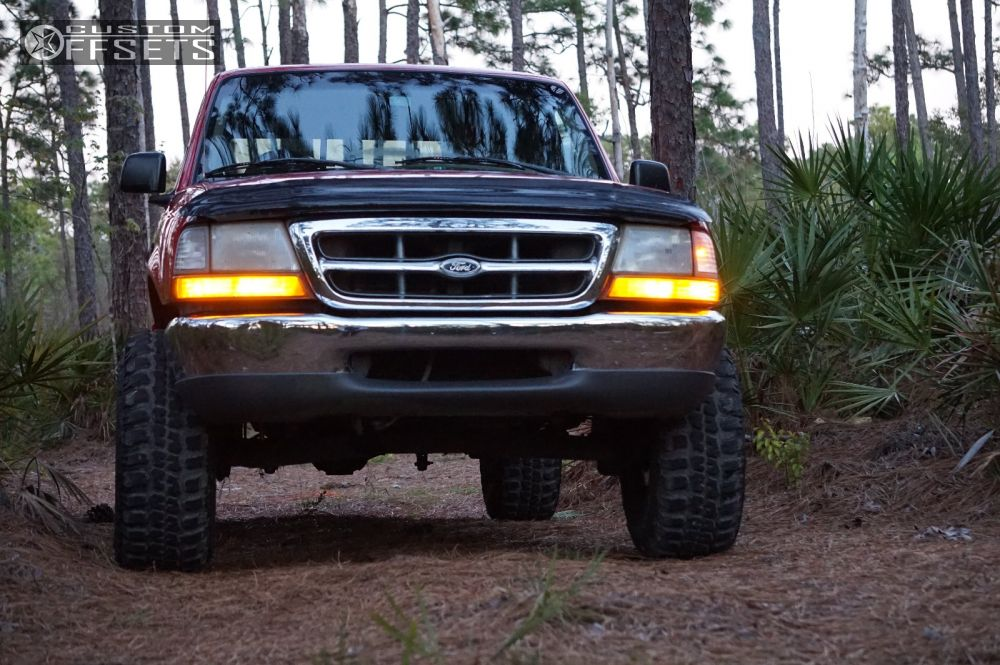 2 2000 ranger ford suspension lift 6 fuel lethal black aggressive 1 outside fender