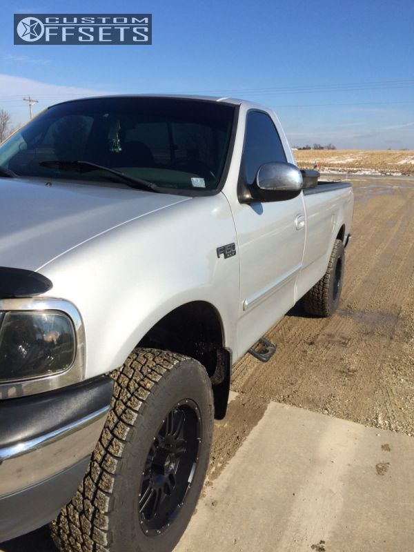 F Ford Leveling Kit Body Lift Fuel Atx Series Machined Accents Hella Stance