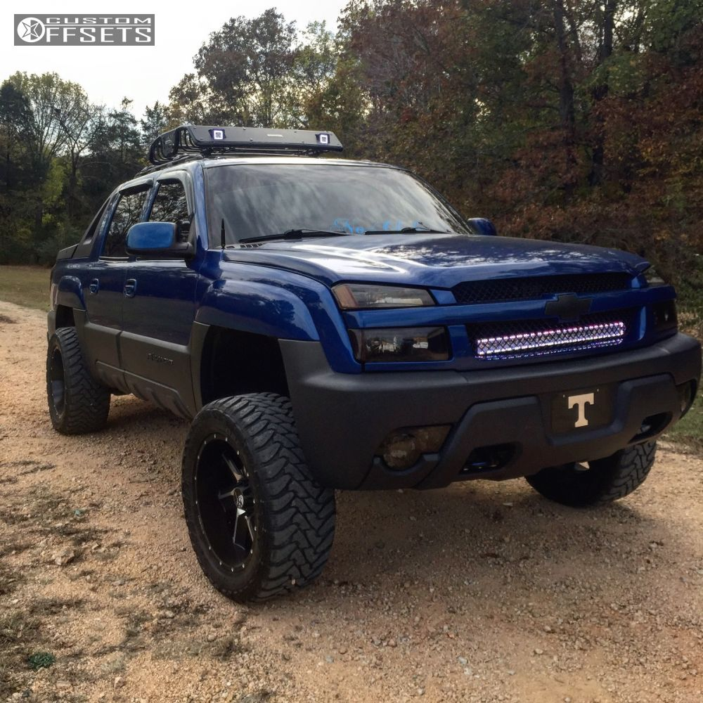 Avalanche chevy avalanche 33 inch tires : Wheel Offset 2003 Chevrolet Avalanche 1500 Super Aggressive 3 5 ...