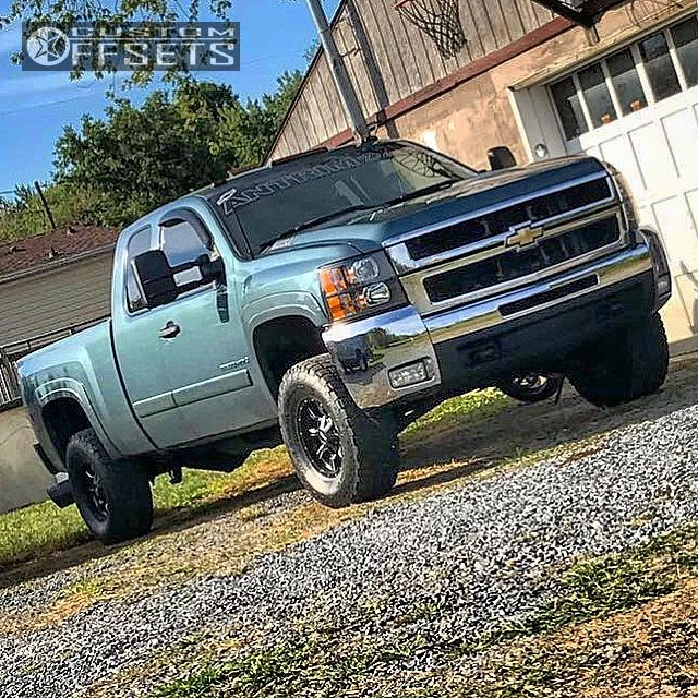 1 2007 Silverado 2500 Hd Chevrolet Leveling Kit Moto Metal Mo970 Black Slightly Aggressive