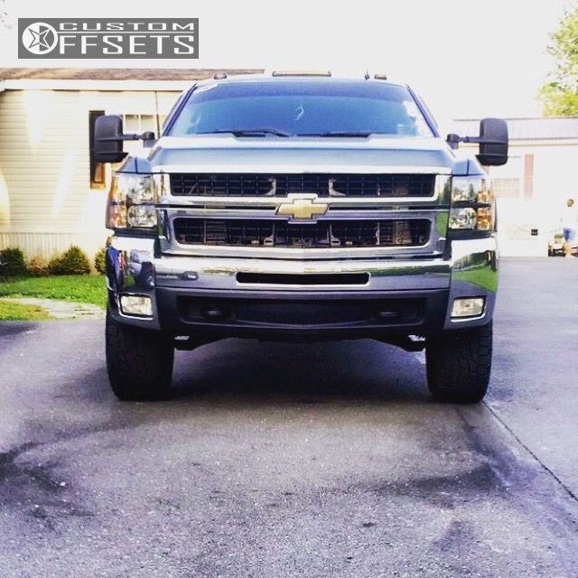 2 2007 Silverado 2500 Hd Chevrolet Leveling Kit Moto Metal Mo970 Black Slightly Aggressive