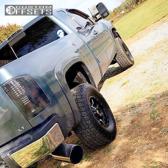 3 2007 Silverado 2500 Hd Chevrolet Leveling Kit Moto Metal Mo970 Black Slightly Aggressive