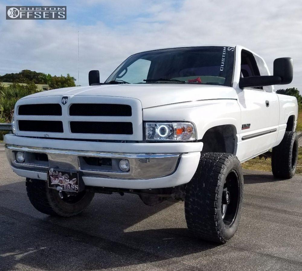 2001 Dodge Ram 2500 Fuel Turbo Suspension Lift 5in Custom