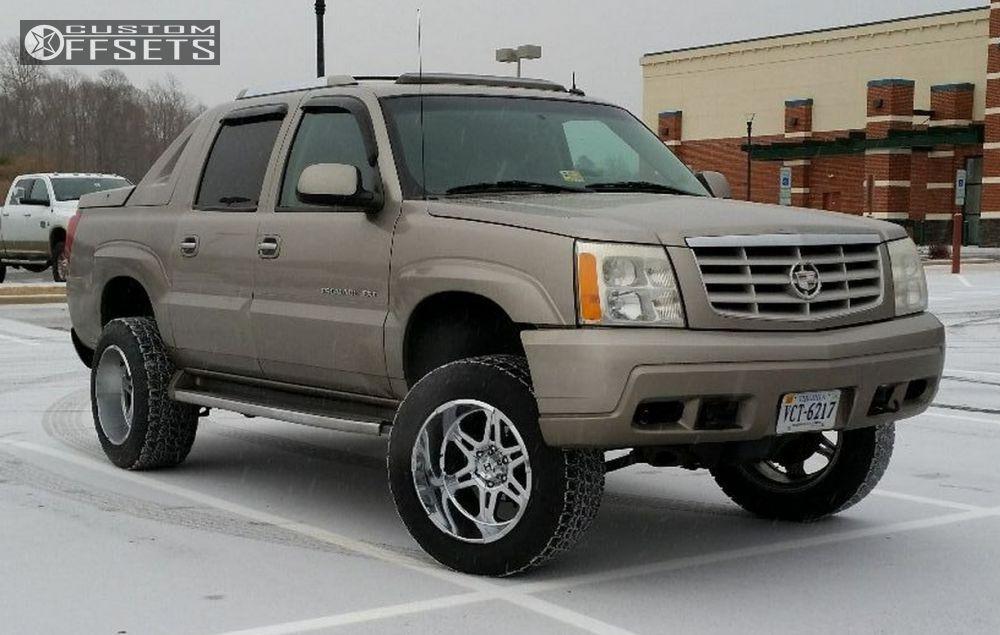 Wheel Offset 2003 Cadillac Escalade Ext Super Aggressive 3