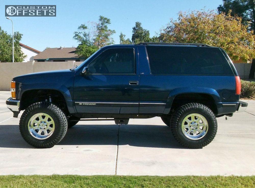 1998 Chevrolet Tahoe Moto Metal Mo972 Rough Country