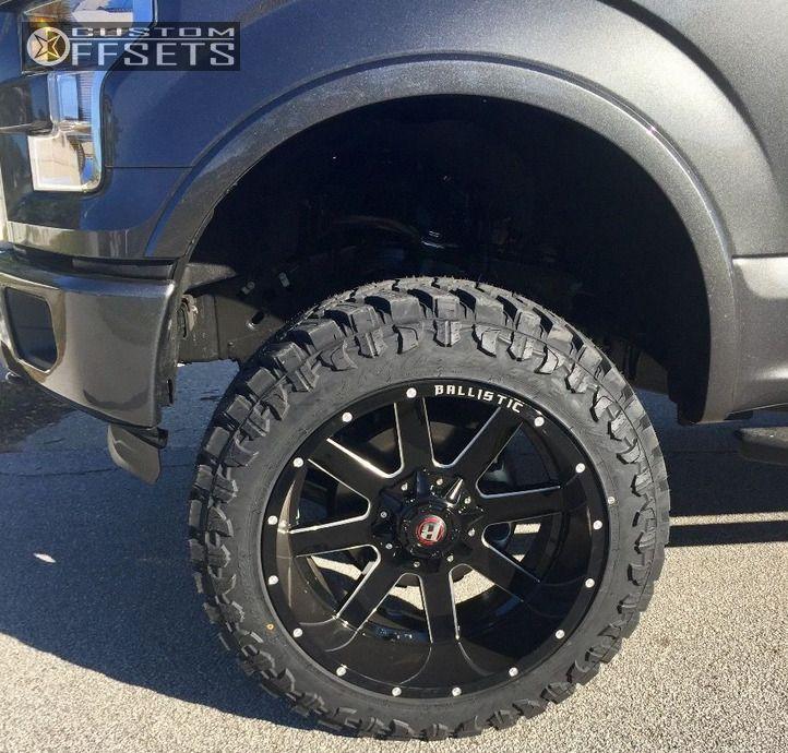 8 2016 F 150 Ford Suspension Lift 6 Ballistic Rage Black Super Aggressive 3 5