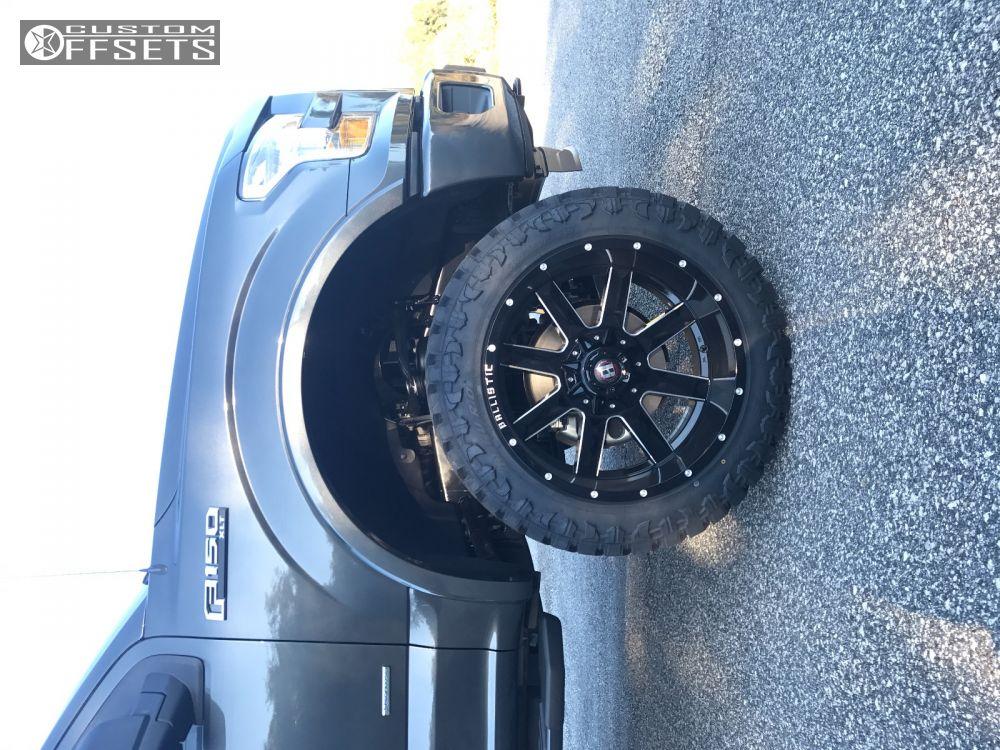 9 2016 F 150 Ford Suspension Lift 6 Ballistic Rage Black Super Aggressive 3 5