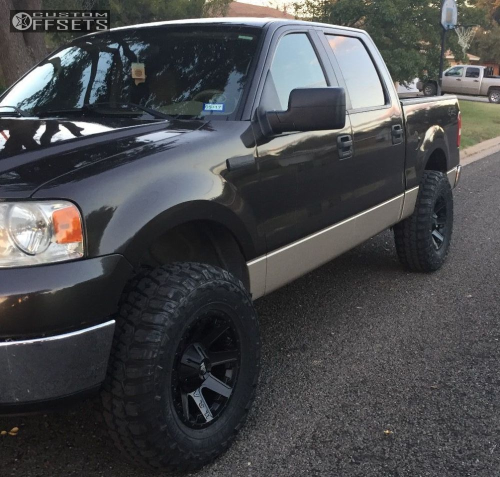 2007 Ford F 150 Red Dirt Road Usa Stock Leveling Kit