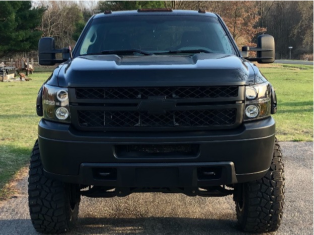 "2013 Chevrolet Silverado 2500 HD Super Aggressive 3""-5"" on 20x12 -44 offset XD Hoss 2 and 37""x13.5"" Cooper Discoverer Stt Pro on Suspension Lift 7"" - Custom Offsets Gallery"