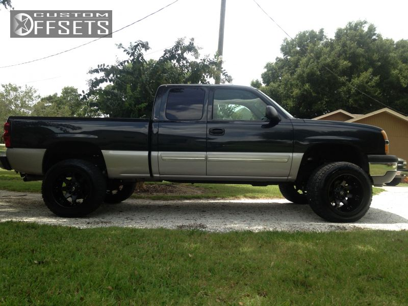 2005 chevrolet silverado 1500 fuel octane suspension lift 6in. Black Bedroom Furniture Sets. Home Design Ideas