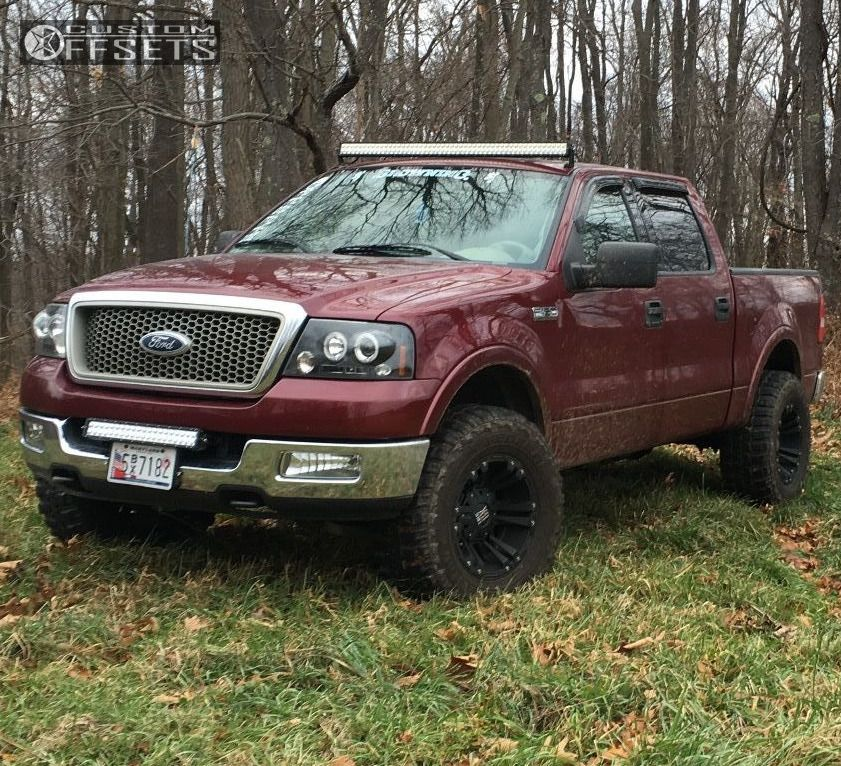 Leveling Kit For Ford F150: 2004 Ford F 150 Xd Monster Ii Rough Country Leveling Kit