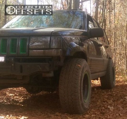 1 1994 Grand Cherokee Jeep Stock Alloy Ion 171 Custom Slightly Aggressive