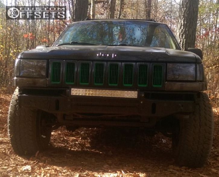 2 1994 Grand Cherokee Jeep Stock Alloy Ion 171 Custom Slightly Aggressive