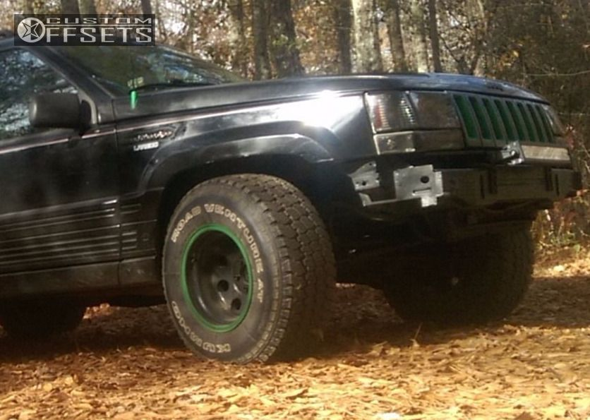9 1994 Grand Cherokee Jeep Stock Alloy Ion 171 Custom Slightly Aggressive