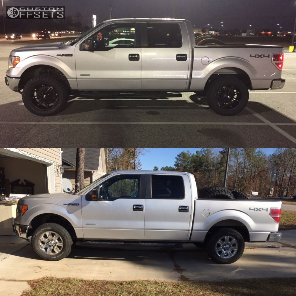Leveling Kit For Ford F150: 2012 Ford F 150 Red Dirt Road Thunder Tuff Country
