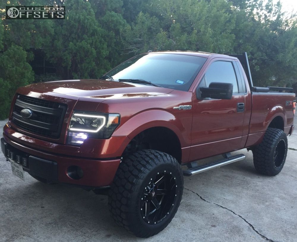1 2014 F 150 Ford Suspension Lift 6 Ballistic Rage Machined Accents Aggressive 1 Outside Fender