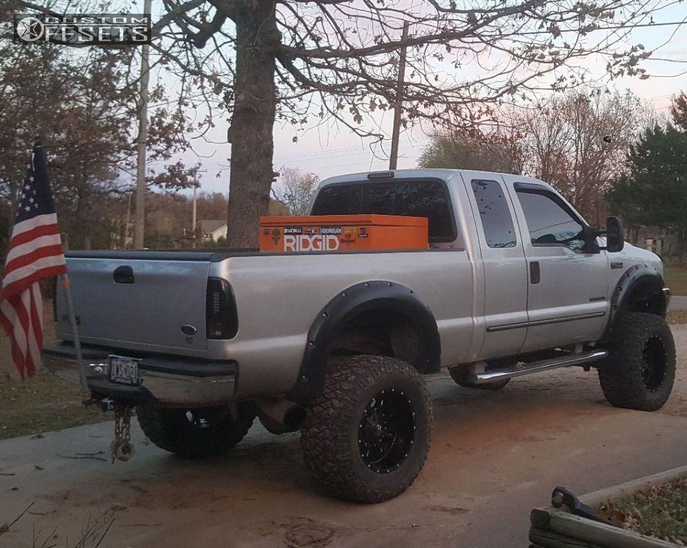 12 2000 f 250 super duty ford suspension lift 8 fuel 517 black aggressive 1 outside