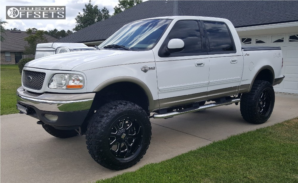 2002 Ford F 150 Xd Xd825 Fabtech Suspension Lift 6in Offsets Garage
