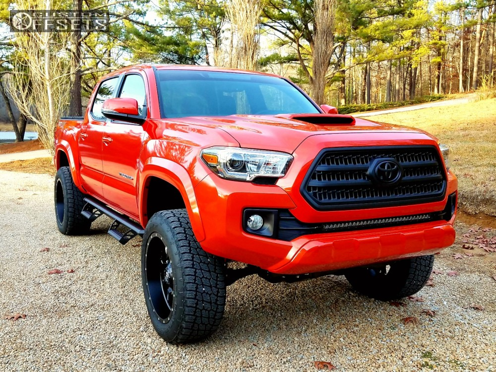 Wheel Offset 2017 Toyota Tundra Aggressive 1 Outside ...