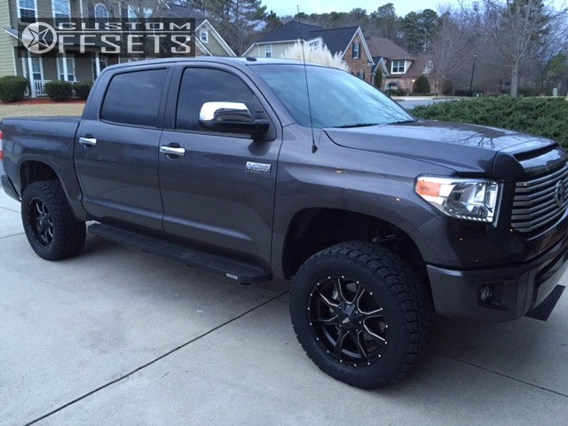 Go Rhino Running Boards >> 2016 Toyota Tundra Moto Metal Mo970 Ready Lift Suspension Lift 3in