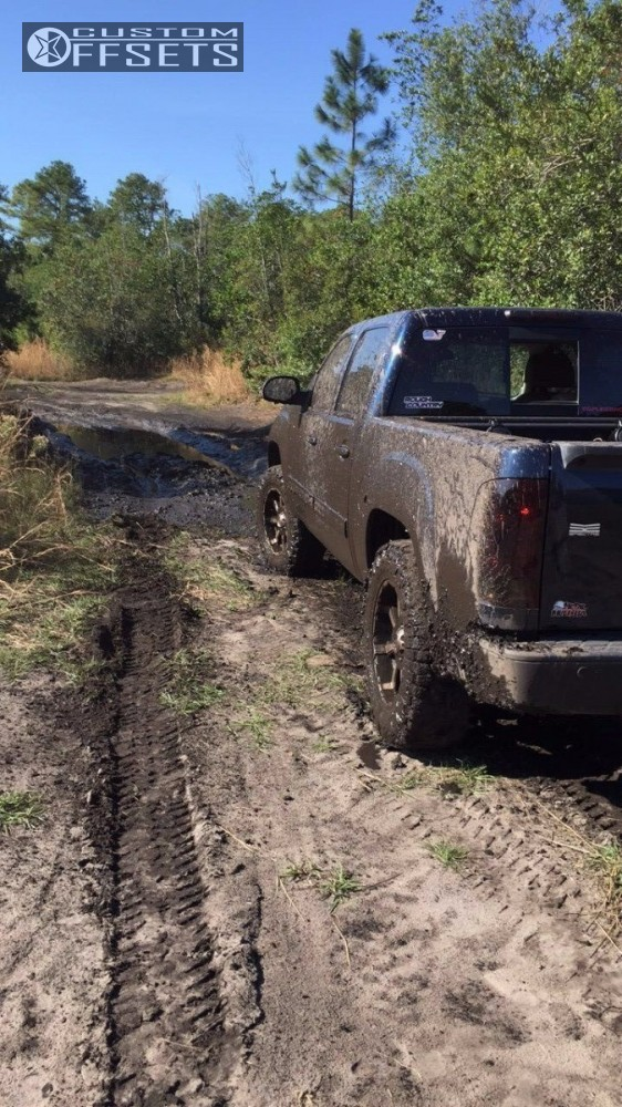 12 2007 Sierra 1500 Gmc Suspension Lift 35 Mkw Offroad M81 Machined Accents Slightly Aggressive
