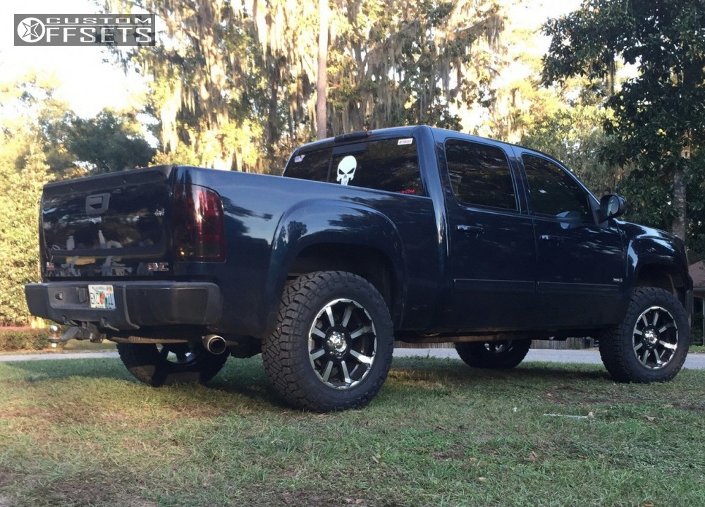 2 2007 Sierra 1500 Gmc Suspension Lift 35 Mkw M81 Machined Accents Slightly Aggressive