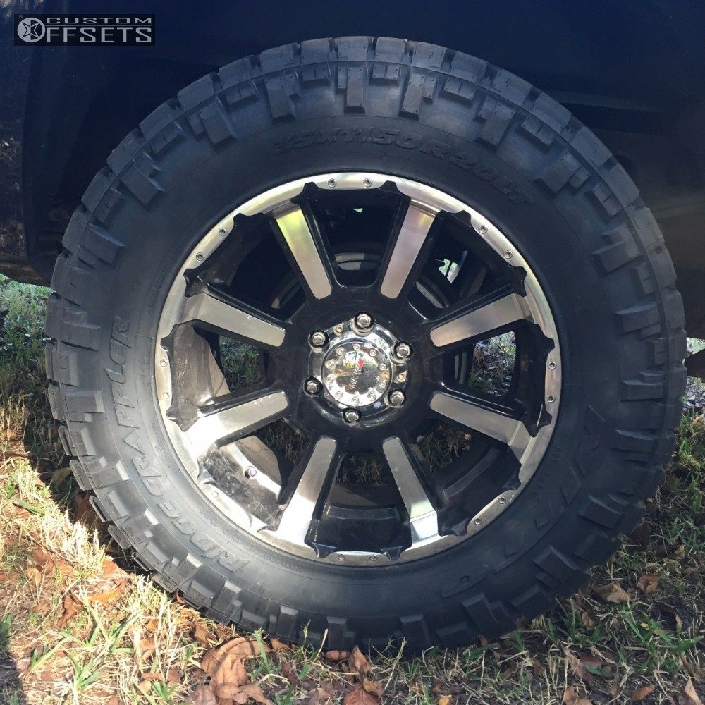 6 2007 Sierra 1500 Gmc Suspension Lift 35 Mkw Offroad M81 Machined Accents Slightly Aggressive