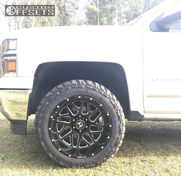 2014 Chevrolet Silverado 1500 Hostile Sprocket Rough ...