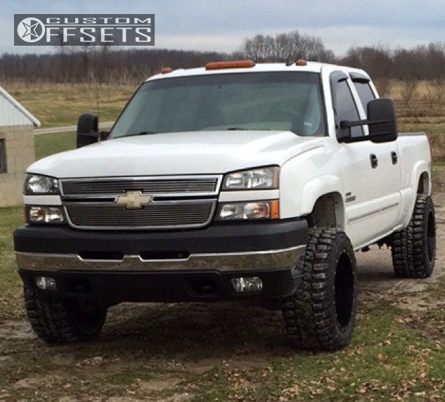 2006 Chevrolet Silverado 2500 Hd Fuel Maverick Stock Stock