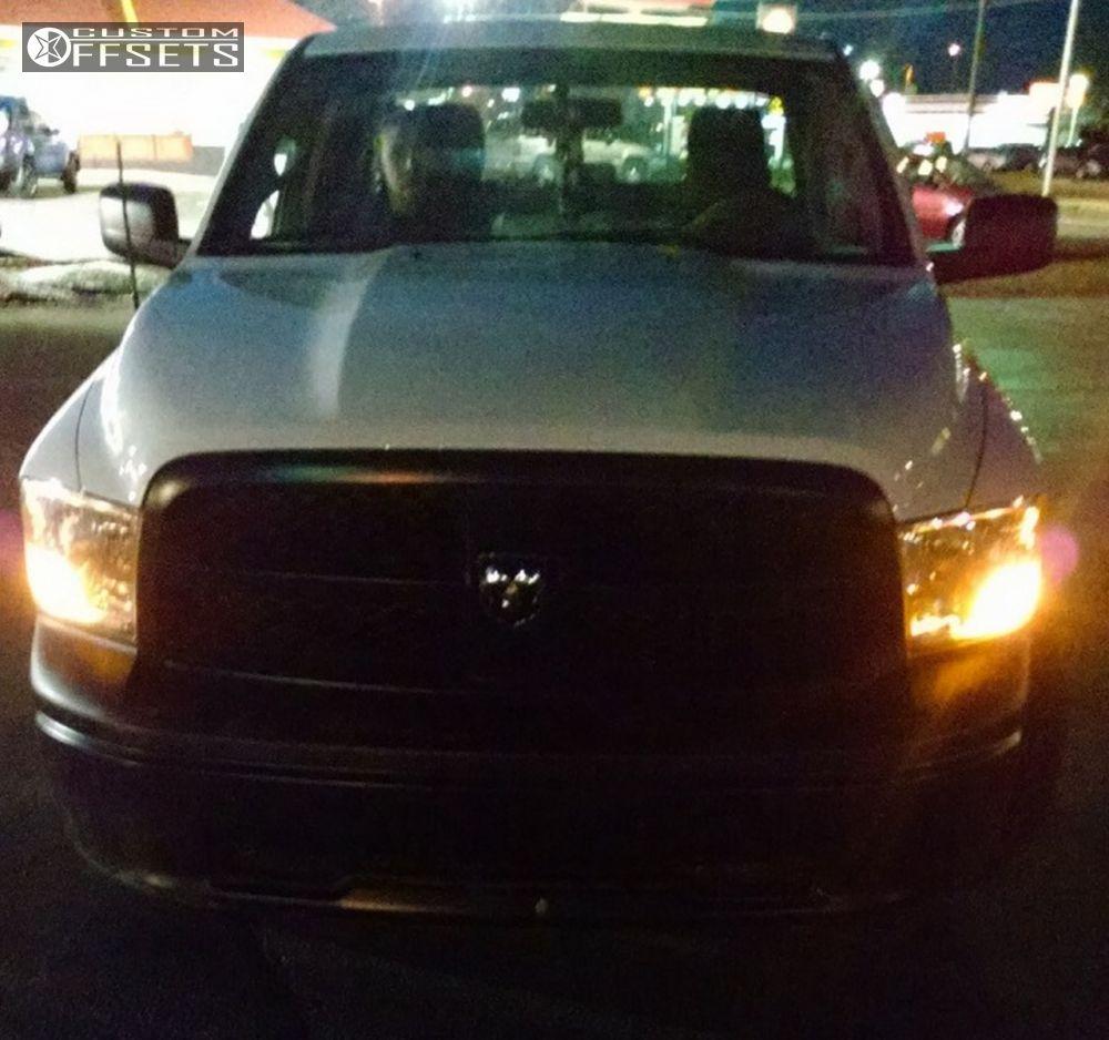 2012 Dodge Ram 1500 Havok H102 Oem Stock Offsets Garage Headlights 2 Havoc 102 Black Slightly Aggressive