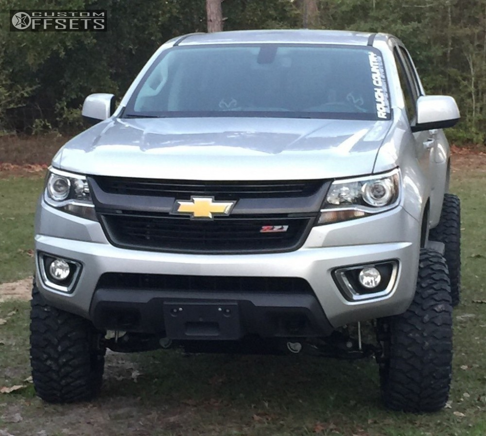 2016 chevrolet colorado moto metal mo962 rough country suspension lift 6in. Black Bedroom Furniture Sets. Home Design Ideas