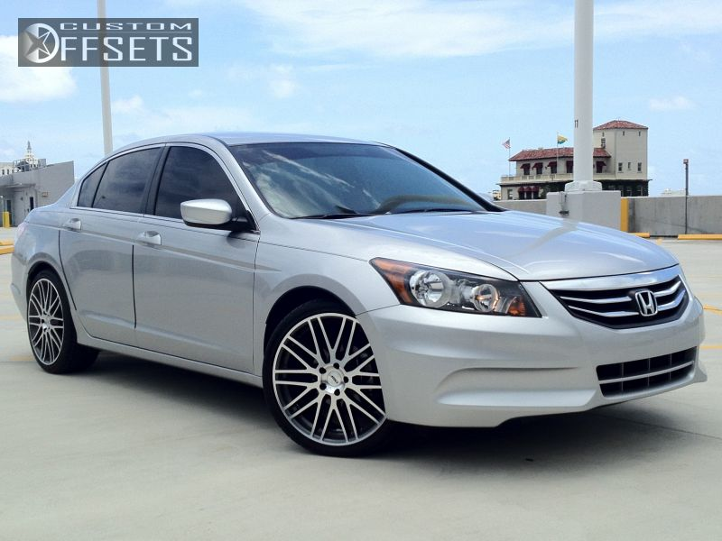 Wheel Offset 2011 Honda Accord Nearly Flush Stock