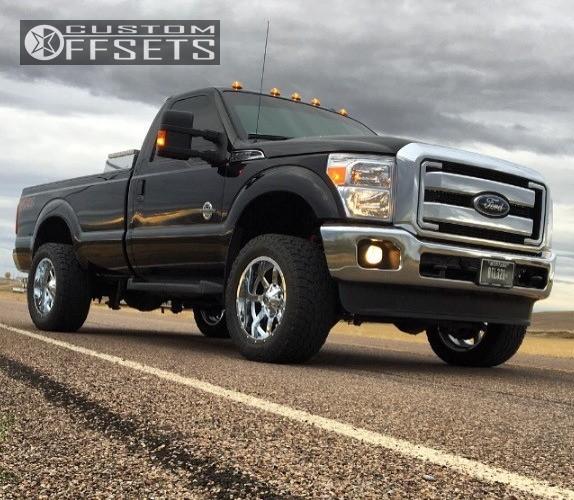 2016 ford f 250 super duty fuel maverick readylift leveling kit. Black Bedroom Furniture Sets. Home Design Ideas