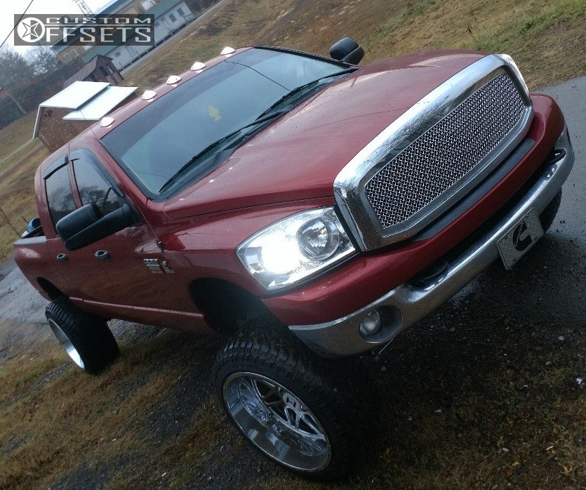 Rough Country 4wd Dodge Ram 2500 3500 Mega Cab 5 Lift: 2008 Dodge Ram 2500 Hostile Sprocket Rough Country