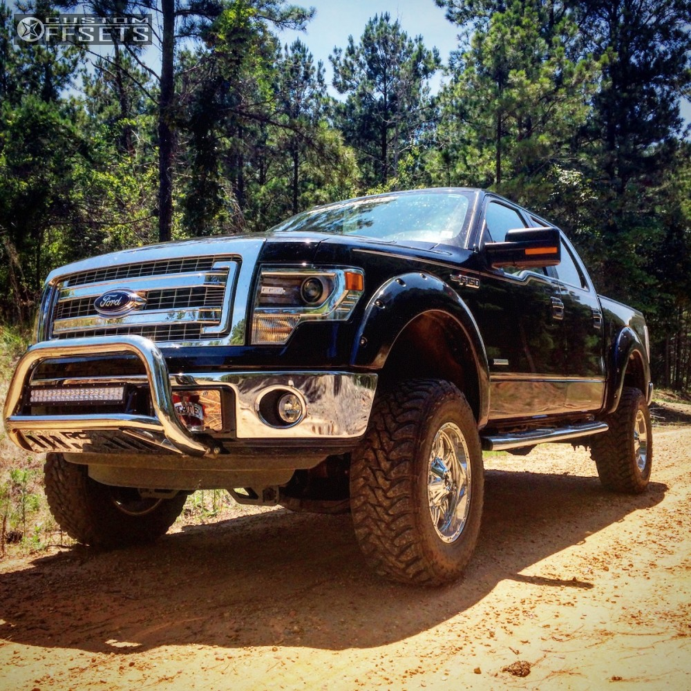 2014 Ford F150 Accessories >> 2014 Ford F 150 Fuel Hostage Rough Country Suspension Lift 6in