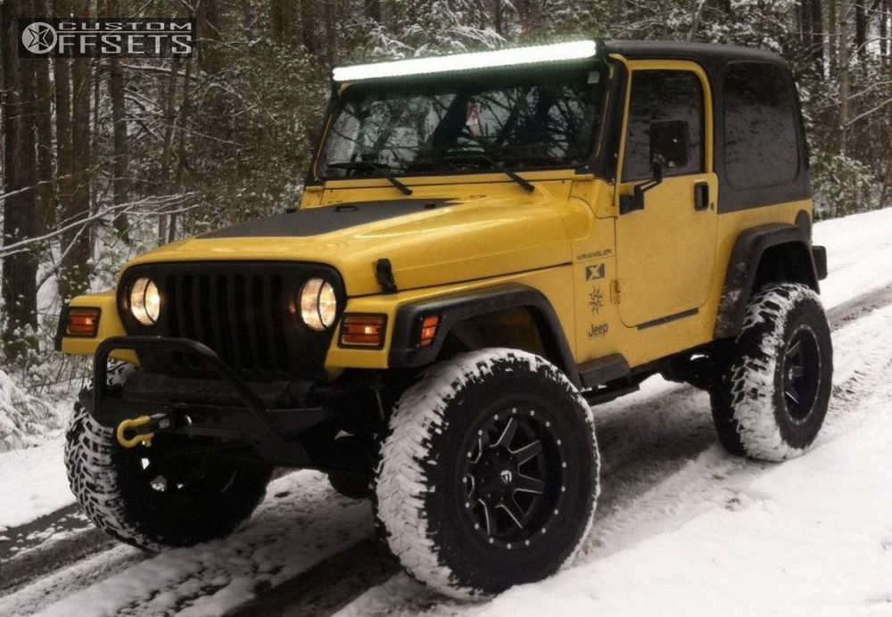 Wheel Offset 2002 Jeep Wrangler Super Aggressive 3 5