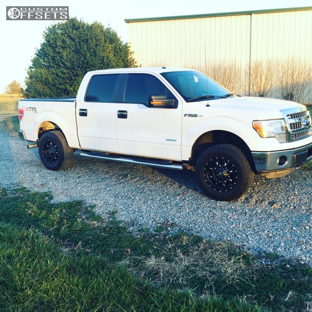 Leveling Kit For Ford F150: 2013 Ford F 150 Fuel Krank Rough Country Leveling Kit
