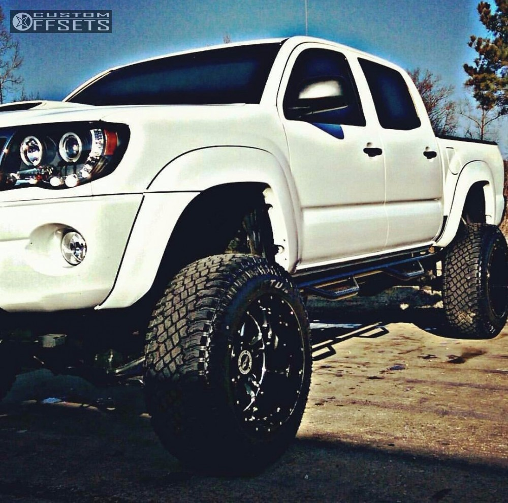 2010 toyota tacoma vision rage rough country suspension lift 6in. Black Bedroom Furniture Sets. Home Design Ideas