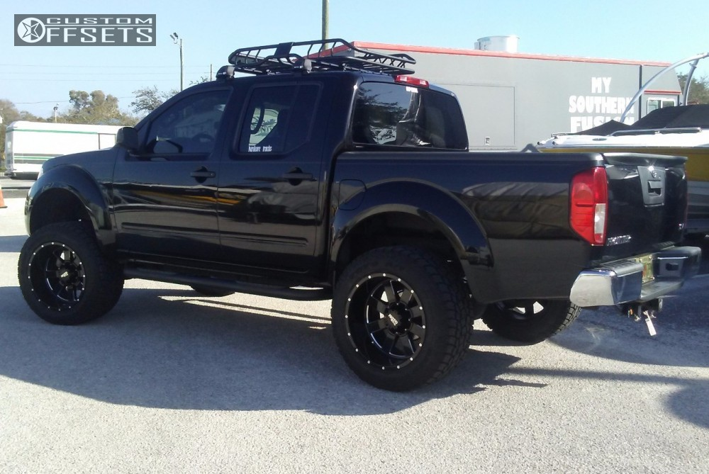 2013 Nissan Frontier Moto Metal 962 Fabtech Suspension Lift 6in